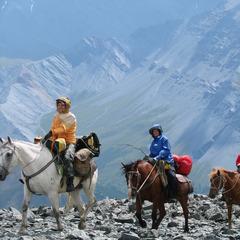Конная экспедиция к Белухе через Коир