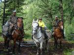 На лошадях к Белухе и сплав по рекам Алтая