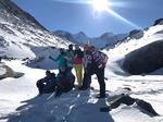 К заповедным уголкам на снегоходе: к озеру Тальмень и к подножью Белухи